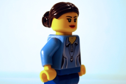This is the Minifigure photo that turned into Liv Tyler in my LEGO-fied Armageddon poster.