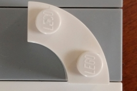 LEGO curved element