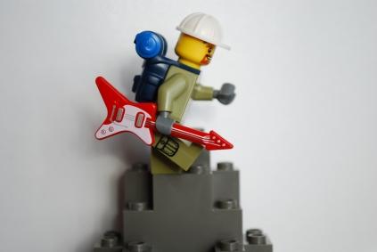 LEGO rockin' soldier