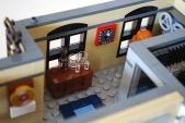 LEGO recording studio minibar.