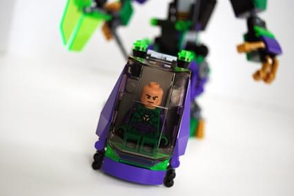 Lex Luthor's pod sealed.