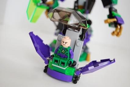 Lex Luthor's pod opened.