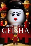 Memoires of a Geisha LEGO-fied