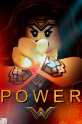 Wonder Woman LEGO-fied
