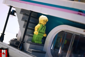 Time to undo that workout at LEGO's Downtown Diner.