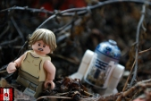 LEGO Luke and R2-D2