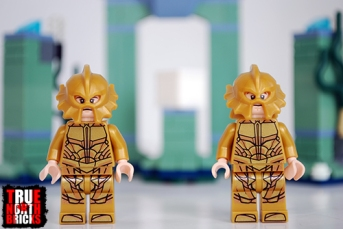 Front view of Atlantean guards.