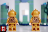 Rear view of Atlantean guards.