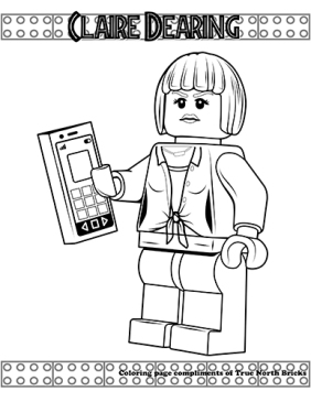 Claire Dearing coloring page