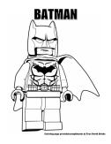 Batman coloring page