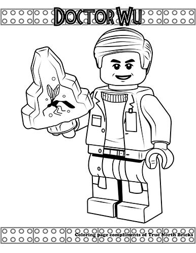 Jurassic World True North Bricks