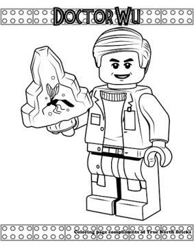 Dr. Wu coloring page