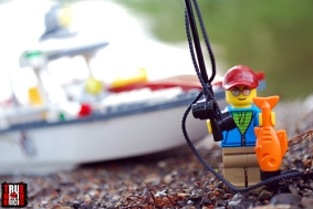 Minifigure from LEGO Fishing Boat (60147)