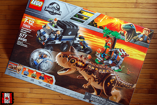 Lego Carnotaurus Gyrosphere Escape True North Bricks