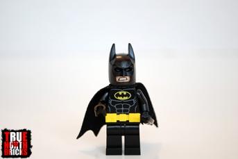 LEGO Batman front view.