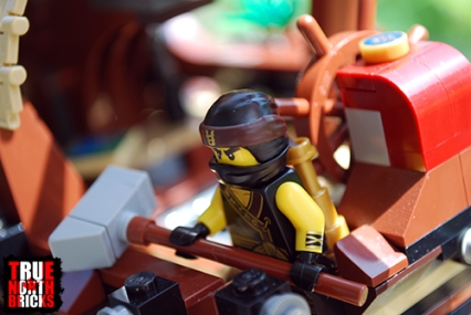 Cole at the helm of Destiny's Bounty.
