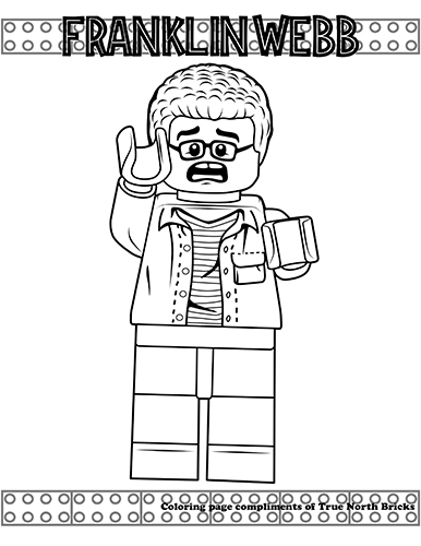 lego jurassic world coloring pages Coloring Page – Franklin Webb | True North Bricks lego jurassic world coloring pages