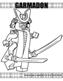 Garmadon coloring page