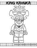 King Kahuka coloring page