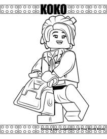 Koko coloring page