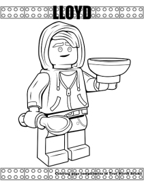 Lloyd coloring page
