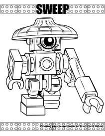 Sweep coloring page