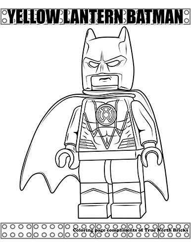 BatmanYellowLanternPin