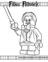 Filius Flitwick coloring page.