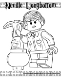 Neville Longbottom coloring page.