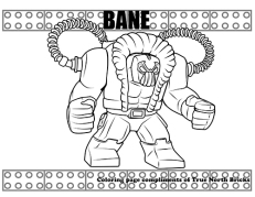 Bane coloring page
