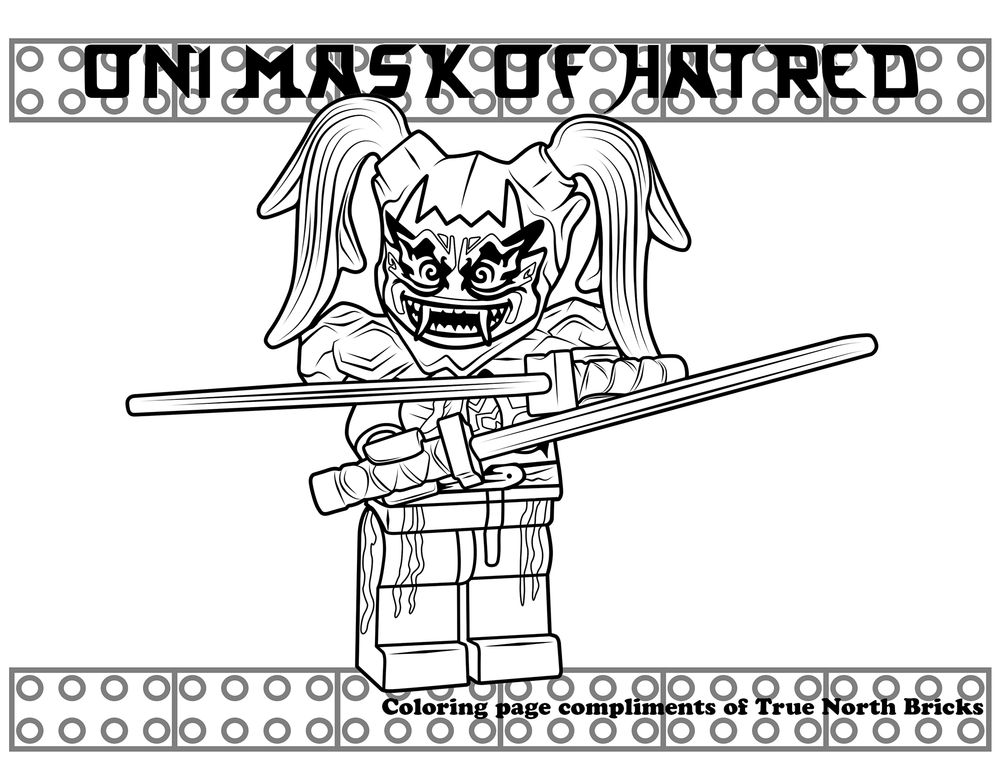 Colouring Pages Lego Ninjago Kidcoloringmewarnaisite