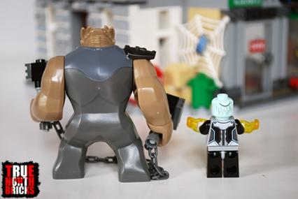 Rear view of the villains of the Sanctum Sanctorum Showdown.
