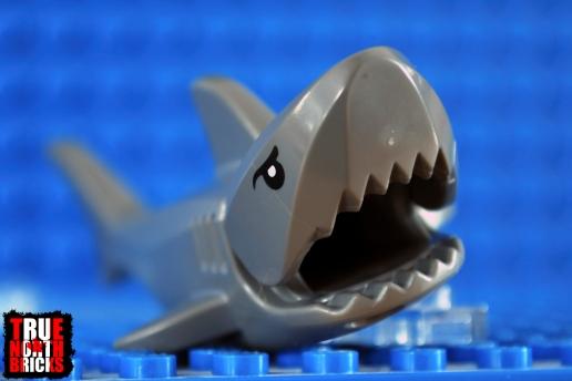 Generic LEGO shark.
