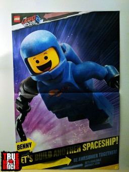 Side 2 of the LEGO Movie 2 poster.