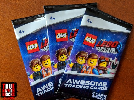 The packaging for the LEGO Movie 2 trading cards.